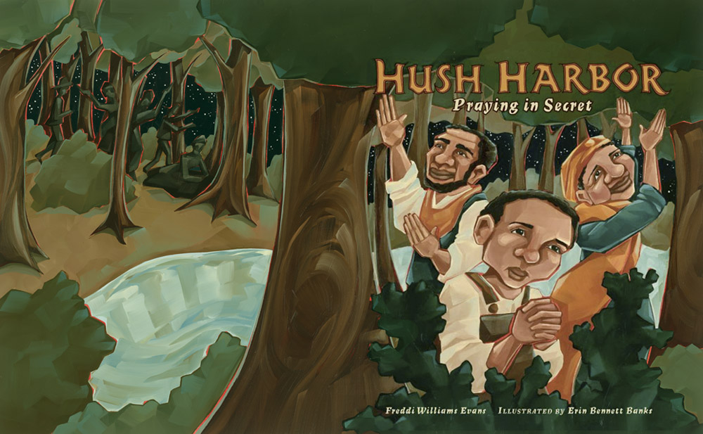 Hush Harbor (full cover spread)