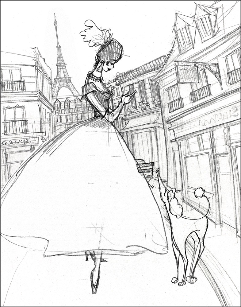 Paris Lady (sketch)