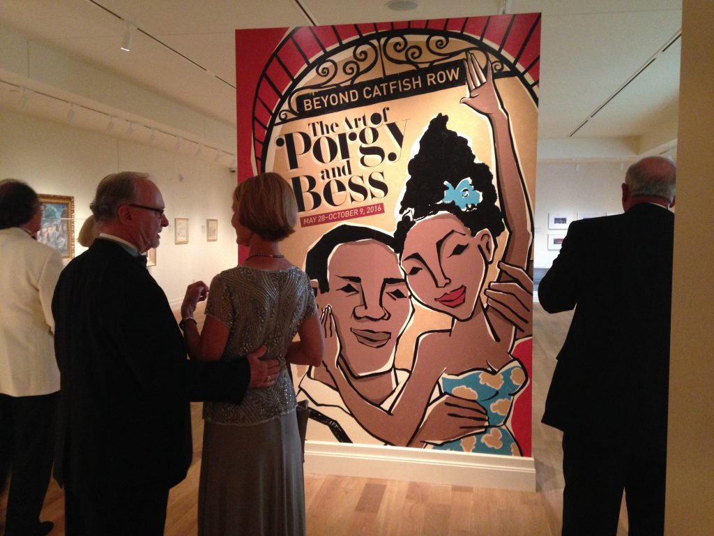 Porgy and Bess title wall