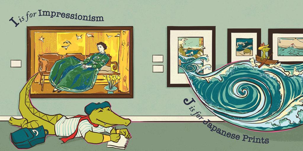 06-GibbesABC-Impressionism-JapanesePrints