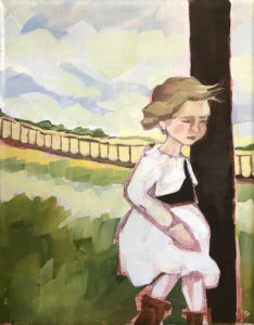 Girl-ShemCreek-small-painting-ErinBanks